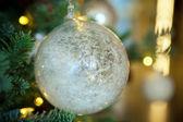 Christmas toys, Christmas decorations — Stock Photo