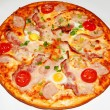 Постер, плакат: Pizza fast food art chef