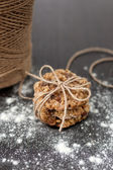 オートミール レーズン クッキー — ストック写真