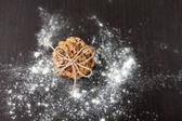Havermout cookies met rozijnen — Stockfoto