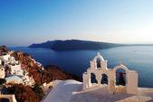 Oia sea view in Santorini island, Greece — Stock Photo