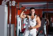 Workout in the gym — Stock fotografie
