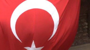 Turkish flag — Stock Video