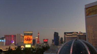 Las vegas al tramonto — Video Stock