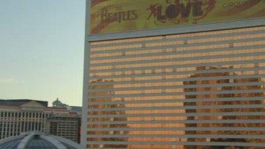 Las Vegas strip at sunset — ストックビデオ