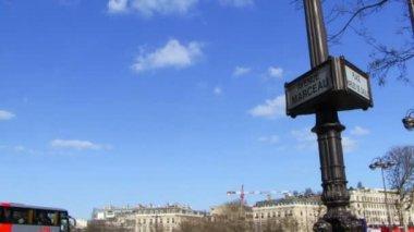 在巴黎凯旋门 — 图库视频影像