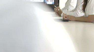 Doctors in Meeting Room — Stock Video