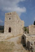 Castle of Lycourgos Logothetes in Pythagorio, SAMOS, Greece, Europe, EU — Stock Photo