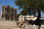 Library of Celsus, EPHESUS, Turkey, Europe — Stock Photo