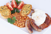 English breakfast, Food — Stock Photo