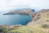 A trilha para o cabo da ponta de sao lourenco, madeira, portugal, Europa — Fotografia Stock