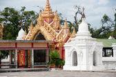 Entrance gate to Maha Lokamarazein Kuthodaw Pagoda,Myanmar. — Photo