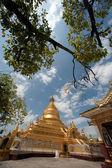 Maha Lokamarazein Kuthodaw Pagoda in  Myanmar. — 图库照片