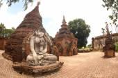 Yadana Hsemee Pagoda Complex. — Stock Photo