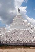 Hsinbyume Pagoda in Myanmar. — Zdjęcie stockowe