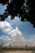 Hsinbyume Pagoda in Myanmar. — Stockfoto