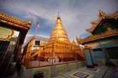 Soon U Pone Nya Shin Pagoda,Myanmar. — Foto de Stock
