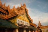 The Pavilion on Soon U Pone Nya Shin temple,Myanmar. — Stock Photo