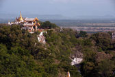 Pagoda on Sagaing hill,Sagaing Division in Myanmar. — Stock Photo