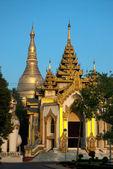 Shwegagon Pagoda , Yangon,Myanmar. — Fotografia Stock
