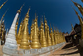 Sanctuary Shwe Inn Taing near Inle lake in Myanmar . — Foto de Stock