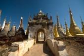 Sanctuary Shwe Inn Taing near Inle lake in Myanmar . — Stockfoto