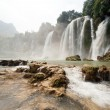 Ban Gioc waterfall in Vietnam. — Stock Photo #60445743