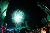 Countdown Happy New year in Bangkok 2013. — Fotografia Stock