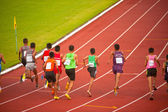 1500 m.in Thailand Open Athletic Championship 2013. — Stockfoto