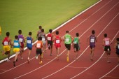 1500 m.in Thailand Open Athletic Championship 2013. — Stock Photo