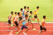 1500 m.in Thailand Open Athletic Championship 2013. — Stok fotoğraf