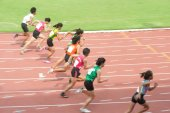 5000 m.in Thailand Open Athletic Championship 2013. — Foto de Stock