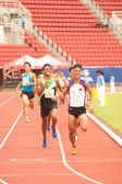 800 m.in Thailand Open Athletic Championship 2013. — Stock Photo