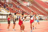 Tayland açık Atletizm Şampiyonası 2013'de geçişi. — Stok fotoğraf