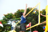 27th South East Asian Beach Volleyball Championship. — Стоковое фото