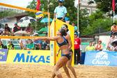 27 South East Asian Beach volejbal mistrovství. — Stock fotografie
