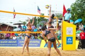 27. South East Asian Beach Volleyball-Europameisterschaft. — Stockfoto