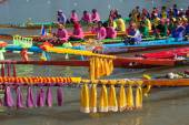 Colorful total longtailboat . — Stock Photo