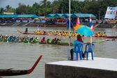 Thai longboat racing . — Stockfoto
