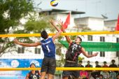 27th South East Asian Beach Volleyball Championship. — Stock Photo
