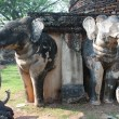 Elephant statue at pagoda in ancient temple . — Stock Photo #63070039