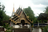 Ancient temple in Northern of Thailand . — Stock Photo