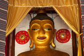 Big ancient buddha . — Stock Photo