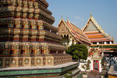 Ancient temple in Bangkok. — Stock Photo