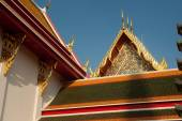 Roof of Thai church. — Stock Photo