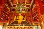 Beautiful ancient Buddha in Thai Temple. — Stockfoto