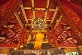 Beautiful ancient Buddha in Thai Temple. — ストック写真
