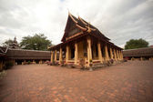 Si Saket Temple in Vientiane ,Laos . — Stok fotoğraf