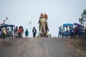 Ordination parade on elephant's back Festival. — Stockfoto