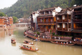 View of Fenghuang ancient city. — Stock Photo